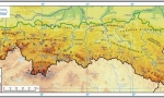 Indicative map: Carpathian mountains (Poland)